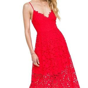 NWT ASTR Red Dress